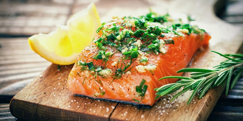 salmon-slider